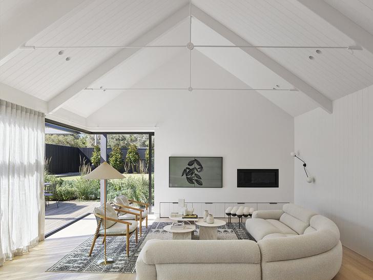 Фото №1 - Дом в светлых тонах в Австралии