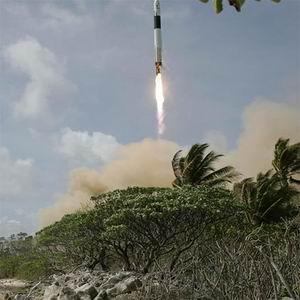 Фото №1 - Частная ракета едва не достигла орбиты МКС