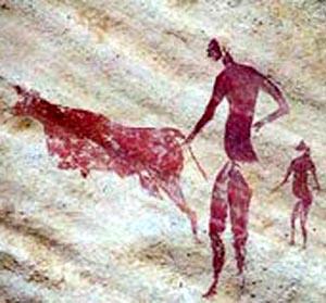 Фото №1 - В Алжире найдены древние наскальные рисунки