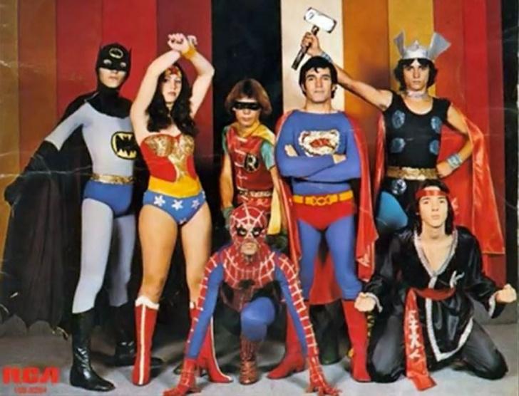 Фото №1 - Гимн Супермена, Бэтмена, Человека-паука и Чудо-женщины по-бразильски (видео из 1979-го)