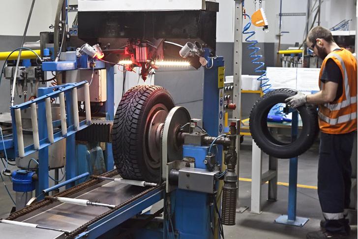 Фото №17 - Как это устроено: путешествие на завод по производству автомобильных шин
