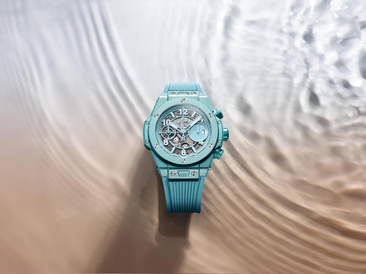 Фото №1 - Морская гладь: как выглядят новые часы Big Bang Unico Summer