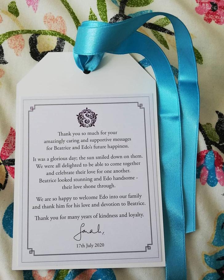 Фото №2 - Редкий и неопубликованный кадр с королевской свадьбы принцессы Беатрис