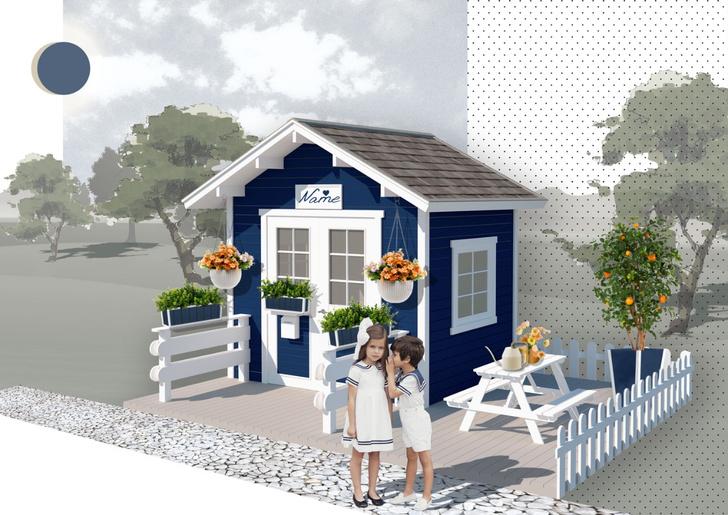 Фото №4 - Дети на даче: игровые домики в саду