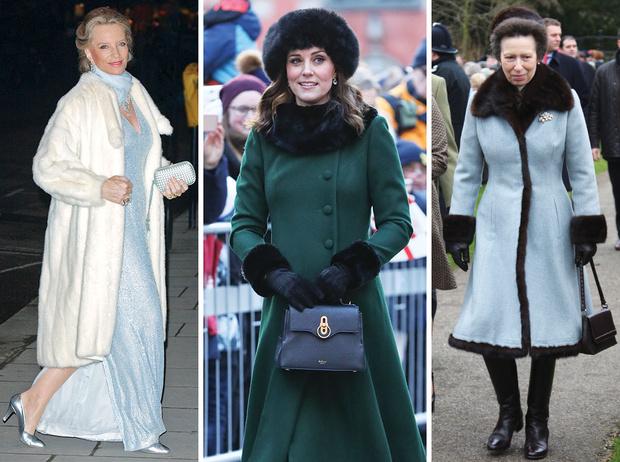 Фото №1 - От Королевы до герцогини Кейт: как королевские особы носят мех