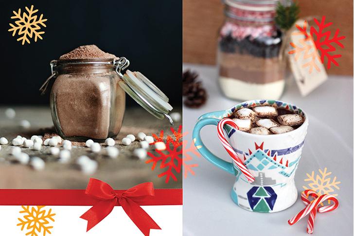 Горячий шоколад в подарок