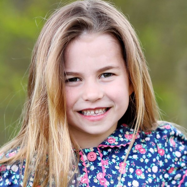 Фото №1 - Копия королевы: принцессе Шарлотте исполнилось 6 лет