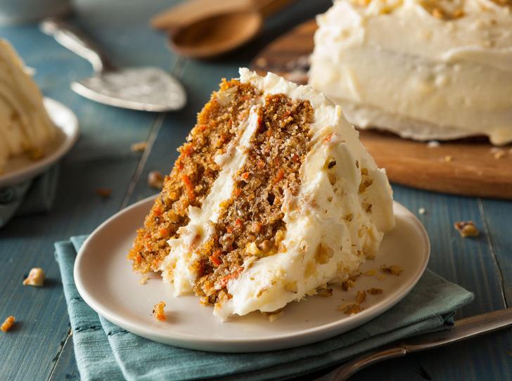Фото №1 - Десерт выходного дня: морковный торт