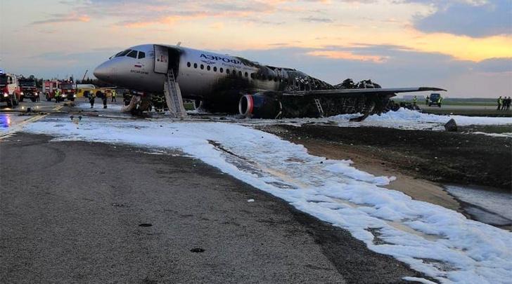 Фото №1 - Катастрофа в Шереметьево