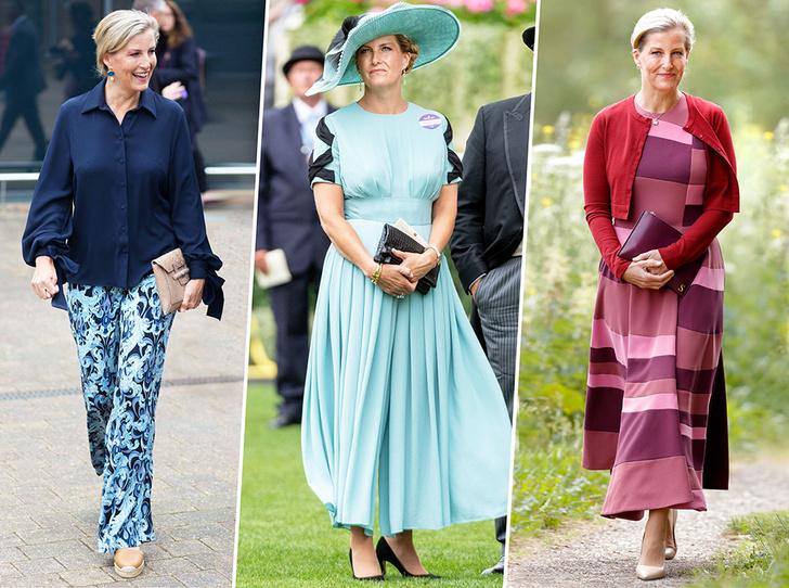 Фото №1 - Софи Уэссекская: тайная модница в королевской семье