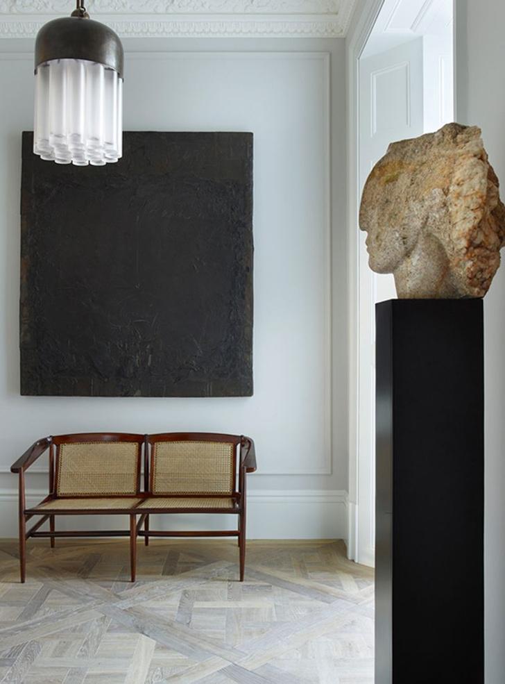 Фото №14 - Светлая квартира с винтажной мебелью в Лондоне