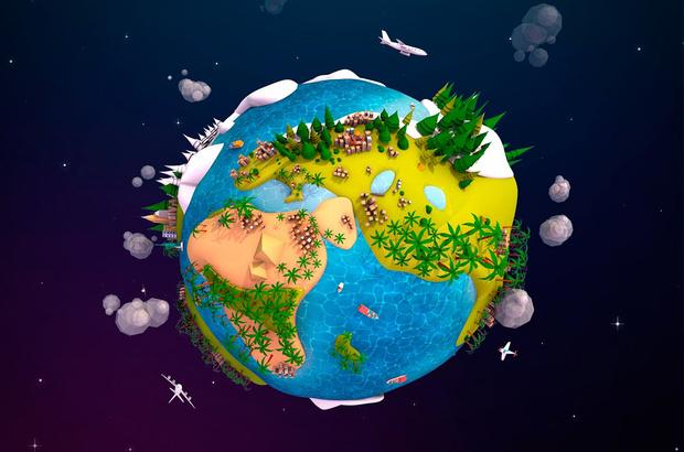 Фото №1 - Microsoft запускает «планетарный компьютер», который будет симулировать жизнь на Земле