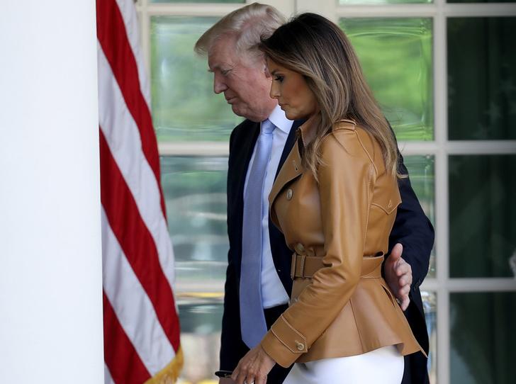 Фото №4 - Мелания Трамп предпочитает сторониться мужа