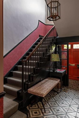 Фото №16 - Исторический особняк в ярких тонах в Бате