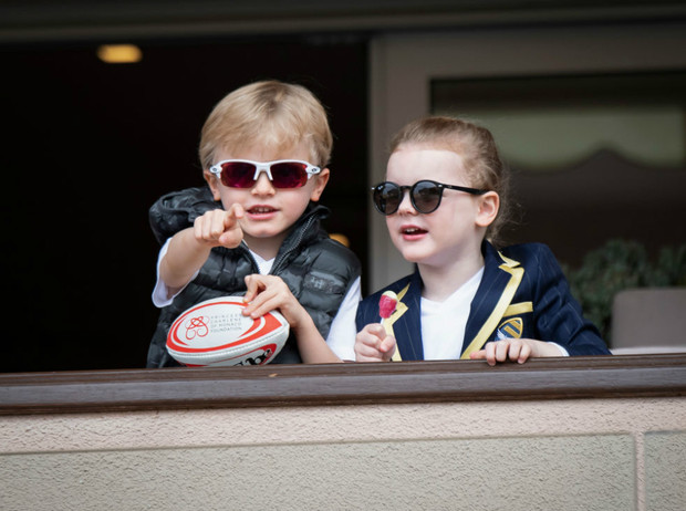Фото №1 - Принц Жак и принцесса Габриэлла: пятый год в фотографиях