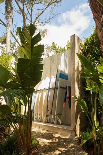 Фото №14 - Современный дом для пары серферов в Малибу