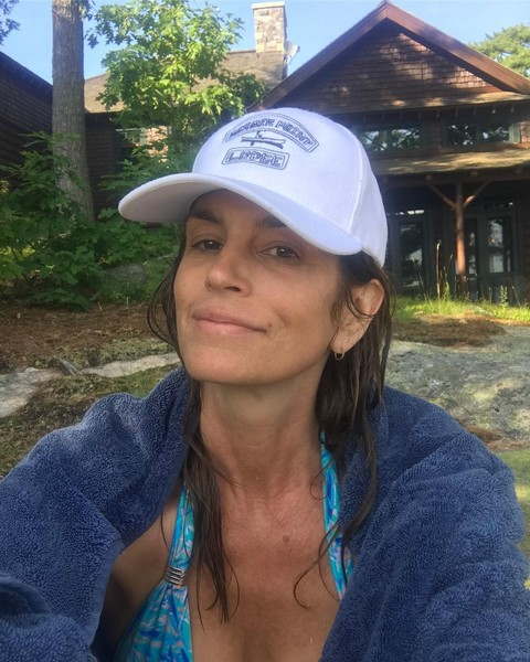 Синди Кроуфорд фото сейчас инстаграм тренировка 2020