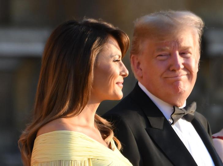 Фото №1 - Мелания Трамп снова троллит мужа