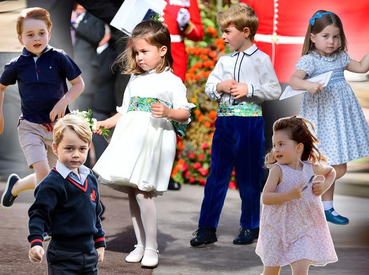 Фото №1 - Гардероб королевских малышей: как одевают детей в британской монаршей семье