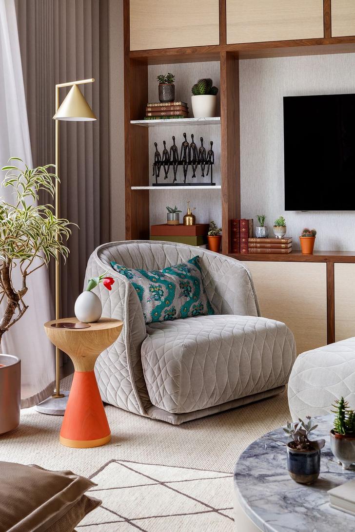 Фото №2 - Элегантная квартира с яркими акцентами в Лондоне