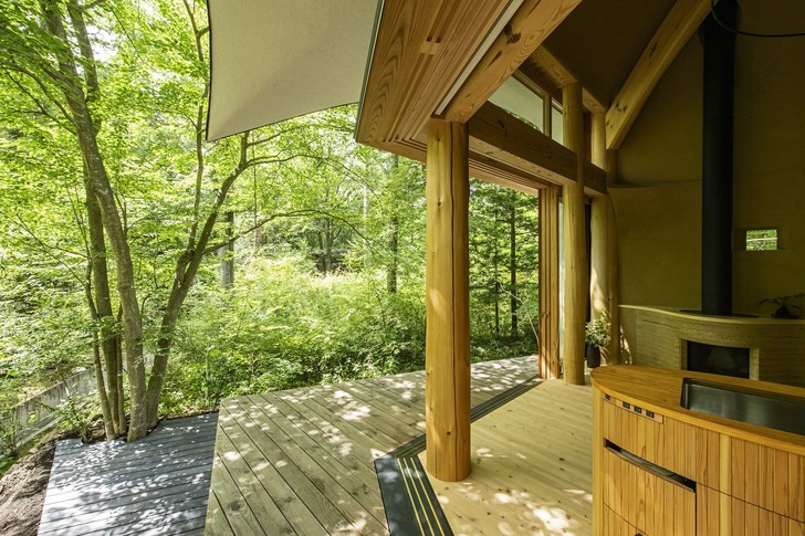 Фото №13 - Летний дом в японском лесу