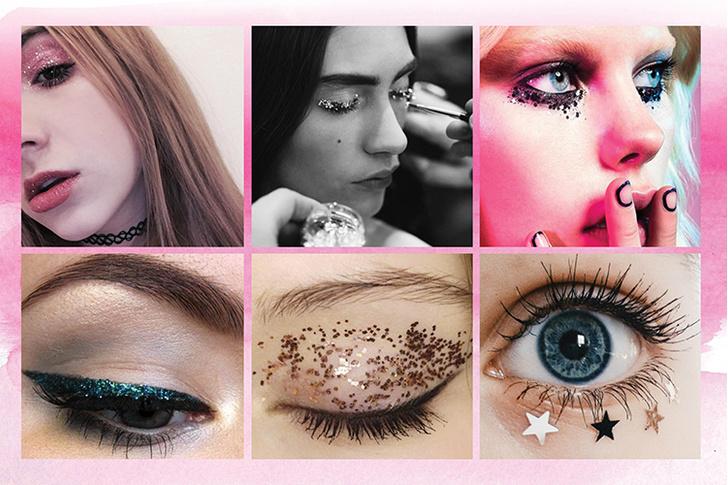 Фото №7 - 6 способов использовать глиттер в новогоднем макияже