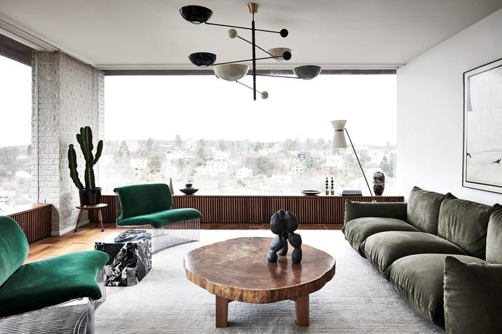 Фото №6 - Двухэтажная вилла в Швеции для семьи дизайнеров