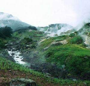 Фото №1 - На Камчатке ожил один из самых красивых гейзеров