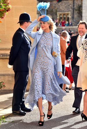 Фото №25 - Самые стильные гости на свадьбе принцессы Евгении и Джека Бруксбэнка