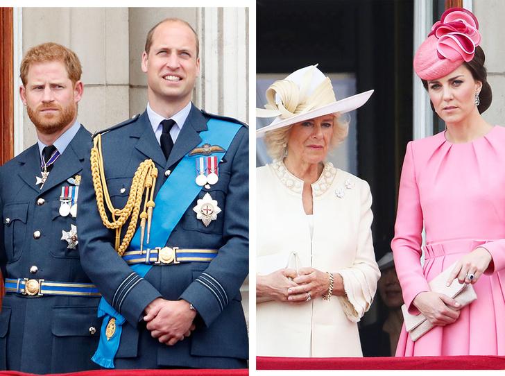 Фото №1 - 6 самых известных конфликтов внутри британской королевской семьи