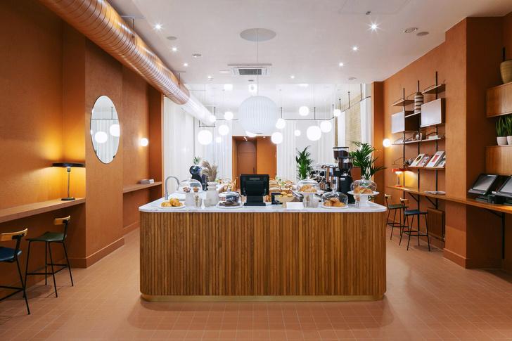 Фото №1 - Оранжевое кафе Beam в Лондоне