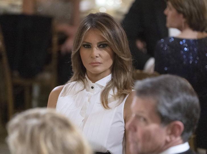 Фото №1 - Как проходит типичный день Мелании Трамп в Белом доме
