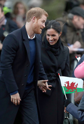 Фото №13 - Принц Гарри и Меган Маркл впервые посетили столицу Уэльса