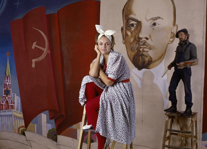 Фото №9 - «Красные звезды перестройки»: популярные советские актрисы в съемке американского фотографа, 1988 год