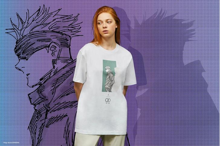 Фото №2 - UNIQLO выпустит коллекцию одежды для фанатов аниме «Магическая битва» 🔥