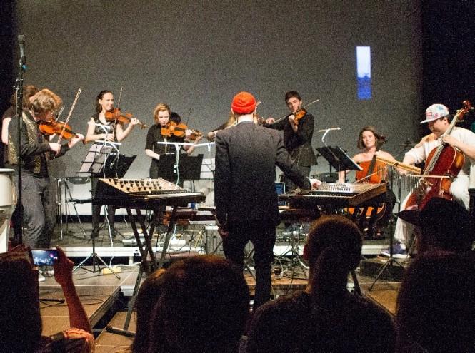 Фото №2 - Зеленый театр ВДНХ. Сцена на воде представляет серию концертов «Неоклассики»