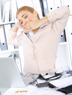 Фото №2 - 10 способов не спать на работе