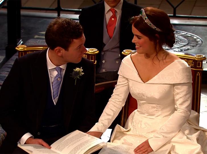 Фото №62 - Свадьба принцессы Евгении и Джека Бруксбэнка