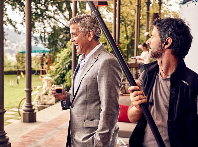 Фото №2 - Джордж Клуни в новом видео Nespresso