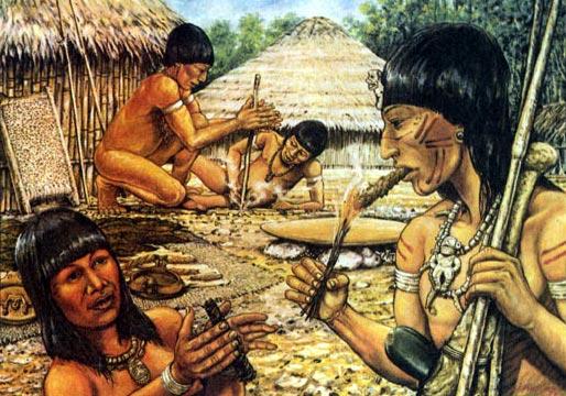Фото №1 - Аборигены «зеленой ящерицы»