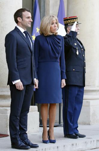 Фото №4 - Рания в Париже: как Брижит Макрон принимала королеву Иордании