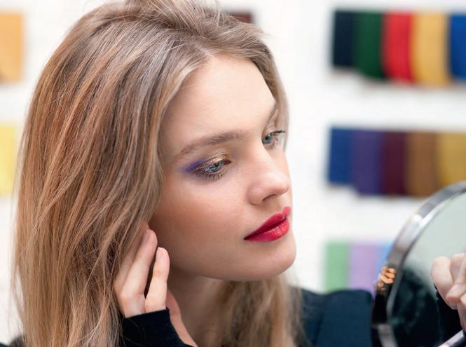 Фото №1 - Как повторить праздничный макияж Натальи Водяновой от Guerlain