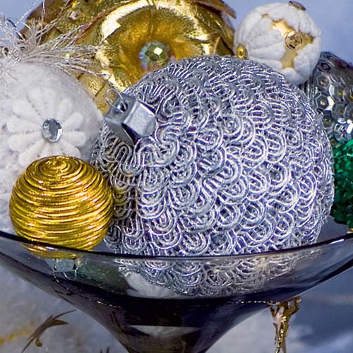 Фото №2 - Своими руками: новая жизнь елочных шаров