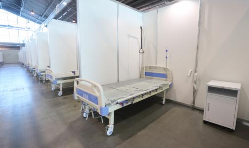 Фото №1 - В администрации губернатора рассказали о судьбе госпиталя в «Ленэкспо»