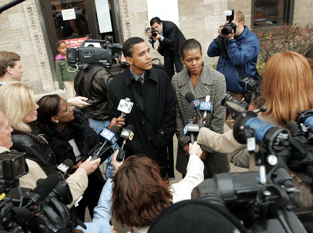 Фото №4 - Как большая политика лишила Мишель Обаму Рождества