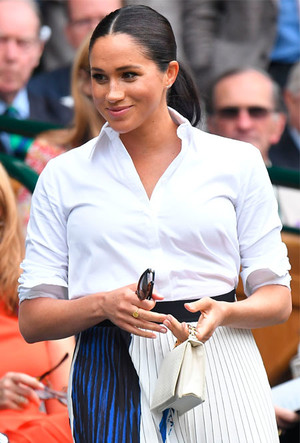 Фото №9 - Лучшие образы герцогини Меган в 2019 году