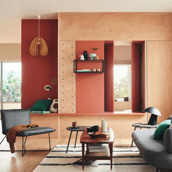 Фото №17 - Дерево в гостиной: идеи и решения
