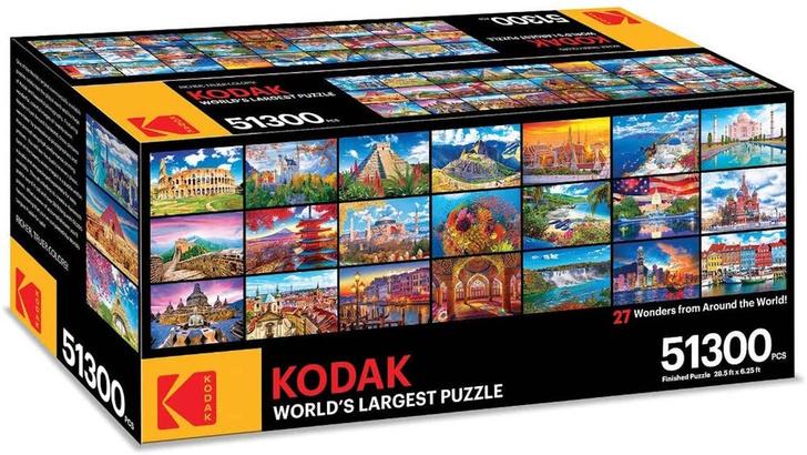 Фото №1 - Компания Kodak выпустила пазл из 51 300 кусочков