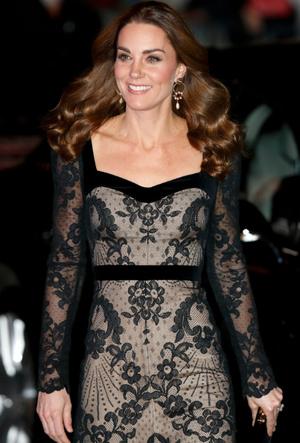 Фото №3 - Как выглядеть элегантно в «голом» платье: показывает герцогиня Кейт