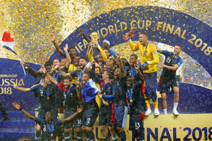 Фото №1 - Франция вновь чемпион: 20 лет спустя